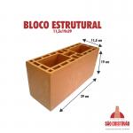 Bloco Estrututal 11,5x19x29