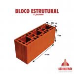 Bloco Estrututal 11,5x19x44